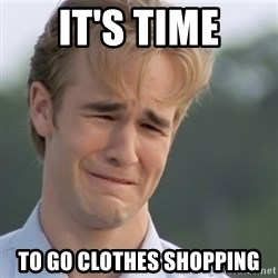 Dawson's Creek - It's time to go clothes shopping