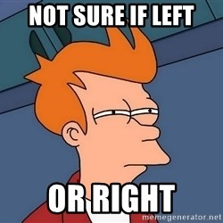 Futurama Fry - not sure if left or right
