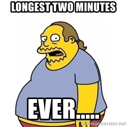 Comic Book Guy Worst Ever - Longest Two Minutes Ever.....
