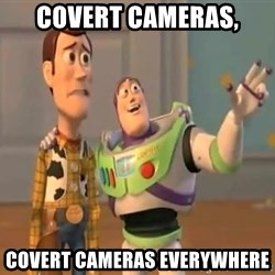 X, X Everywhere  - Covert cameras, Covert cameras everywhere