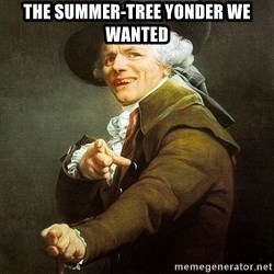 Ducreux - The summer-tree yonder we wanted