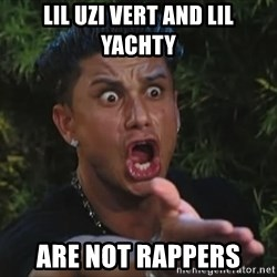 Pauly D - Lil uzi vert and lil yachty are not rappers