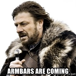 Brace yourself - Armbars are coming