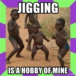 african kids dancing - Jigging Is a hobby of mine