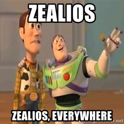 X, X Everywhere  - Zealios zealios, everywhere