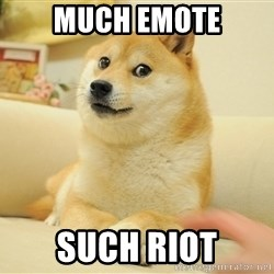so doge - Much emote Such Riot