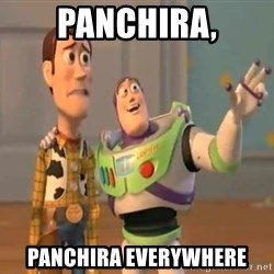 X, X Everywhere  - PANCHIRA, PANCHIRA EVERYWHERE