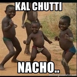 Dancing black kid - Kal chutti Nacho..