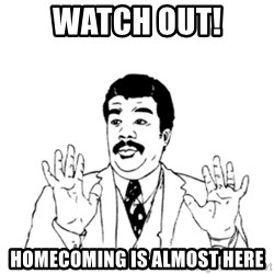 aysi - watch out! Homecoming is almost here