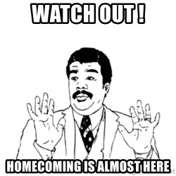 aysi - watch out ! homecoming is almost here