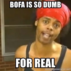 Antoine Dodson - BOFA IS SO DUMB FOR REAL