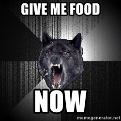 Insanity Wolf - Give me food NOW