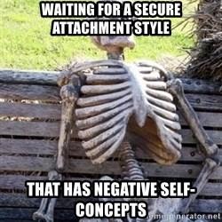 Waiting For Op - waiting for a secure attachment style that has negative self-concepts