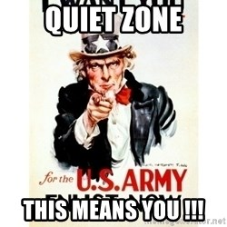 I Want You - QUIET ZONE THIS MEANS YOU !!!