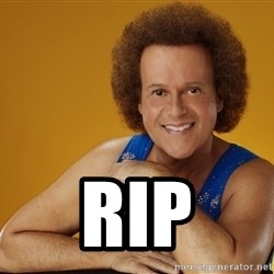 Gay Richard Simmons - rip
