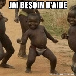 Success African Kid - jai besoin d'aide