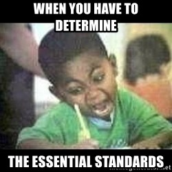 Black kid coloring - When you have to determine the essential standards