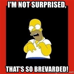 Homer retard - I'm not surprised, That's so brevarded!