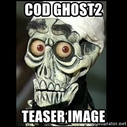 Achmed the dead terrorist - cod ghost2 teaser image