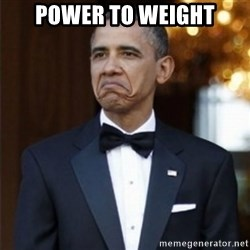 Not Bad Obama - PoweR to weight