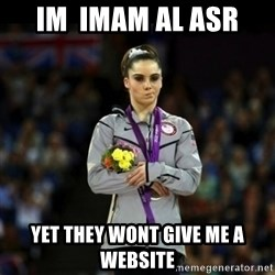Unimpressed McKayla Maroney - im  imam al asr  yet they wont give me a website