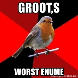 Retail Robin - Groot,s Worst eNume