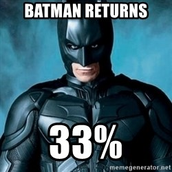 Blatantly Obvious Batman - Batman Returns 33%