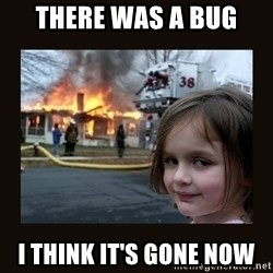 burning house girl - There was a bug I think it's gone now
