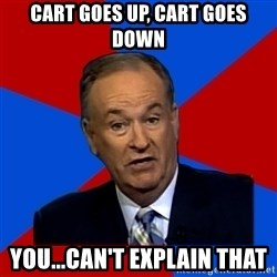 Bill O'Reilly Proves God - Cart goes up, cart goes down you...can't explain that