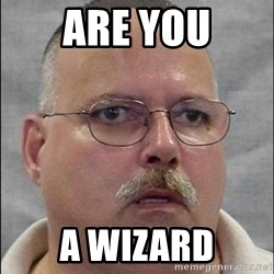 Are You A Wizard - are you a wizard