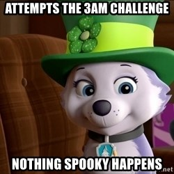 Good Luck Everest  - Attempts the 3am challenge NOthinG SpookY happenS