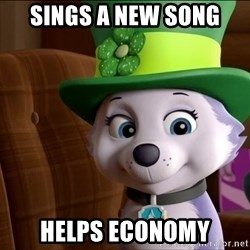 Good Luck Everest  - Sings a new song Helps EcoNomy