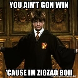 Harry Potter Come At Me Bro - You ain't Gon win 'CAUse im zigzag boii