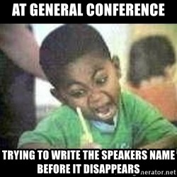 Black kid coloring - At geNeral conference Trying to write the speakers name before it disappears