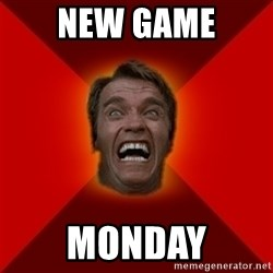 Angry Arnold - New game monday