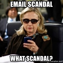 Hillary Clinton Texting - Email scandal What scandal?