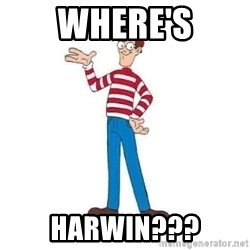 Where's Waldo - WHERE's HARWIN???