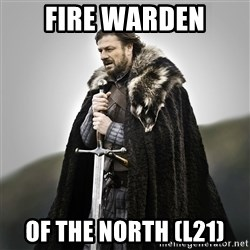 Game of Thrones - Fire WArden of the north (L21)