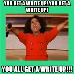 Oprah Car - You get a Write up! you get a write up! You all get a write up!!!