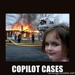 burning house girl - CoPilot cases