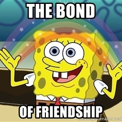 spongebob rainbow - the bond of friendship