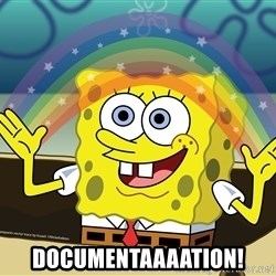 spongebob rainbow - documentaaaation!