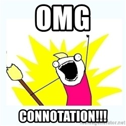 All the things - OMG CONNOTATION!!!