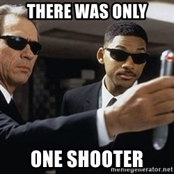 men in black - there was only one shooter