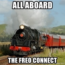 Success Train - all aboard the freo connect