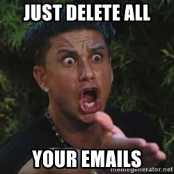 Pauly D - JUST DELETE ALL yOUR EMAILS