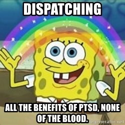 Bob esponja imaginacion - Dispatching All the benefits of PTSD, none of the blood.