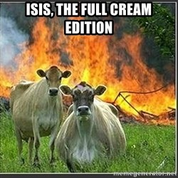 Evil Cows - isis, the full cream edition