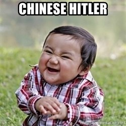 evil toddler kid2 - chinese hitler