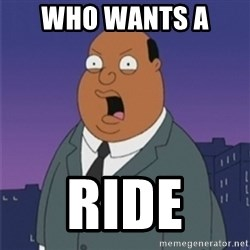 ollie williams - Who wants a  Ride